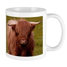 Scottish Highland Cow Small Mugs