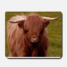Scottish Highland Cow Mousepad