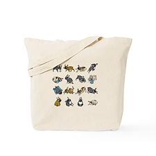 Unique Pose Tote Bag