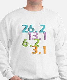 runner distances Sweatshirt