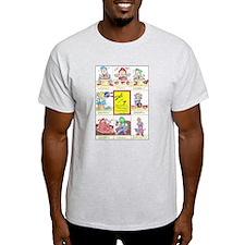 7 Pottery Dwarves T-Shirt