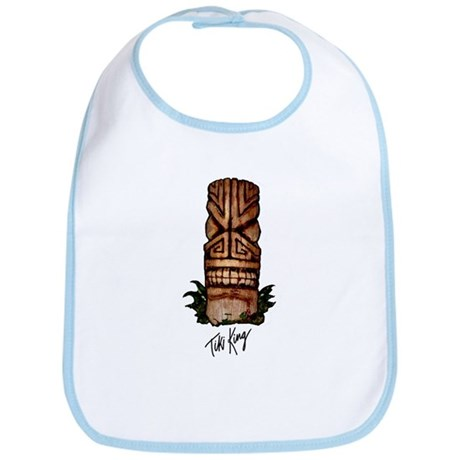 Palm Log Tiki Bib