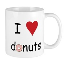 I Love Donuts Mug