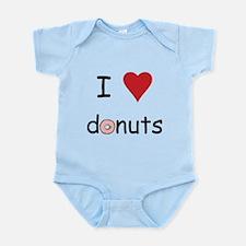 I Love Donuts Infant Bodysuit