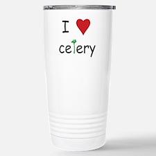 I Love Celery Travel Mug