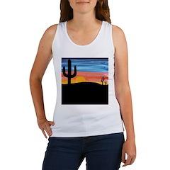 Cactus Sunset Women's Tank Top