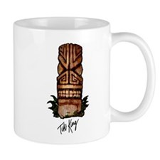 Palm Log Tiki Small Mug