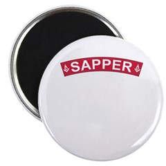Sapper Freemasons Magnet