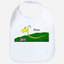 Flea The Teeny Weeny Coiler! Bib
