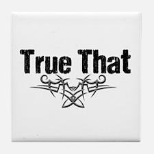 True That Lover V Tile Coaster