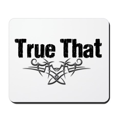 True That Lover V Mousepad