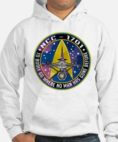 NCC-1701 Mission Patch Hoodie