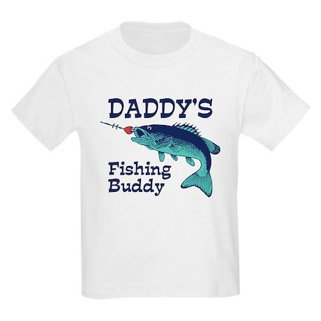 Daddy's Fishing Buddy Kids Light T-Shirt