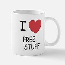 I heart free stuff Mug