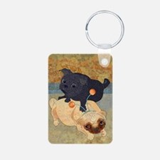 Deelybopper Pugs Keychains