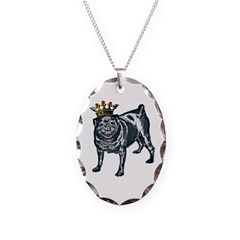 Pug King Necklace