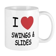 I heart swings and slides Mug