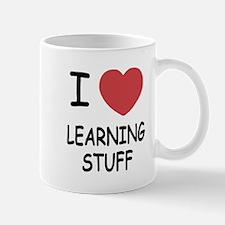 I heart learning stuff Mug