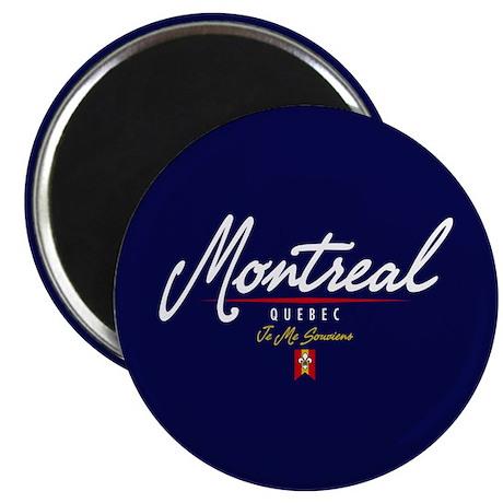 Montreal Script Magnet