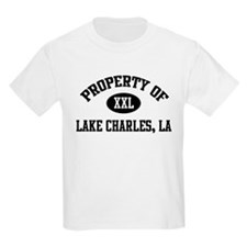 Property of Lake Charles Kids T-Shirt