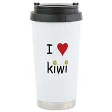 I Love Kiwi Travel Mug