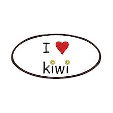 I Love Kiwi Patches