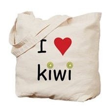 I Love Kiwi Tote Bag