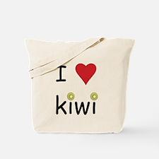 I Love Kiwi Tote Bag