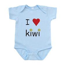 I Love Kiwi Infant Bodysuit