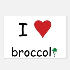 I Love Broccoli Postcards (Package of 8)