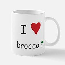 I Love Broccoli Mug