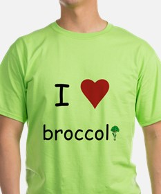 I Love Broccoli T-Shirt