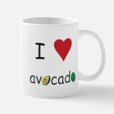I Love Avocado Mug