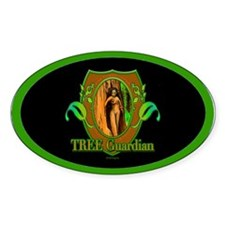 Tree Guardian Oval Decal