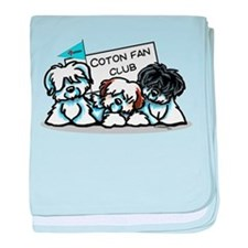 I Love Cotons baby blanket