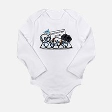 I Love Cotons Long Sleeve Infant Bodysuit