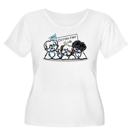 I Love Cotons Women's Plus Size Scoop Neck T-Shirt
