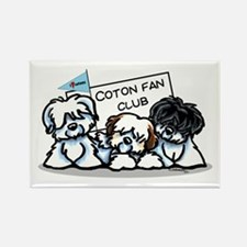 I Love Cotons Rectangle Magnet