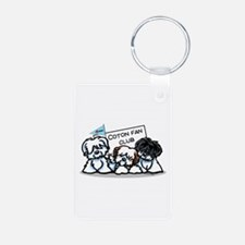 I Love Cotons Keychains