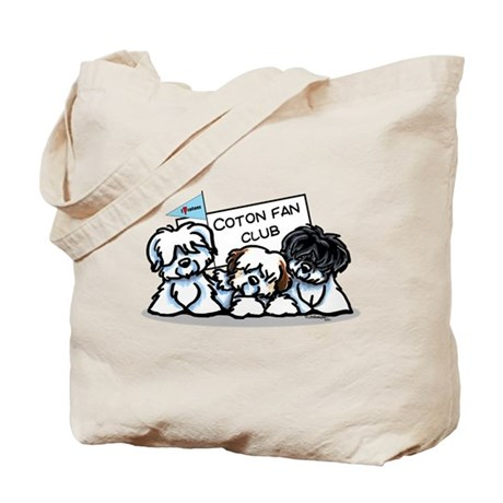 I Love Cotons Tote Bag
