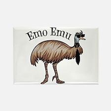 Emo Emu Rectangle Magnet