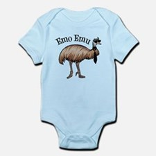 Emo Emu Infant Bodysuit