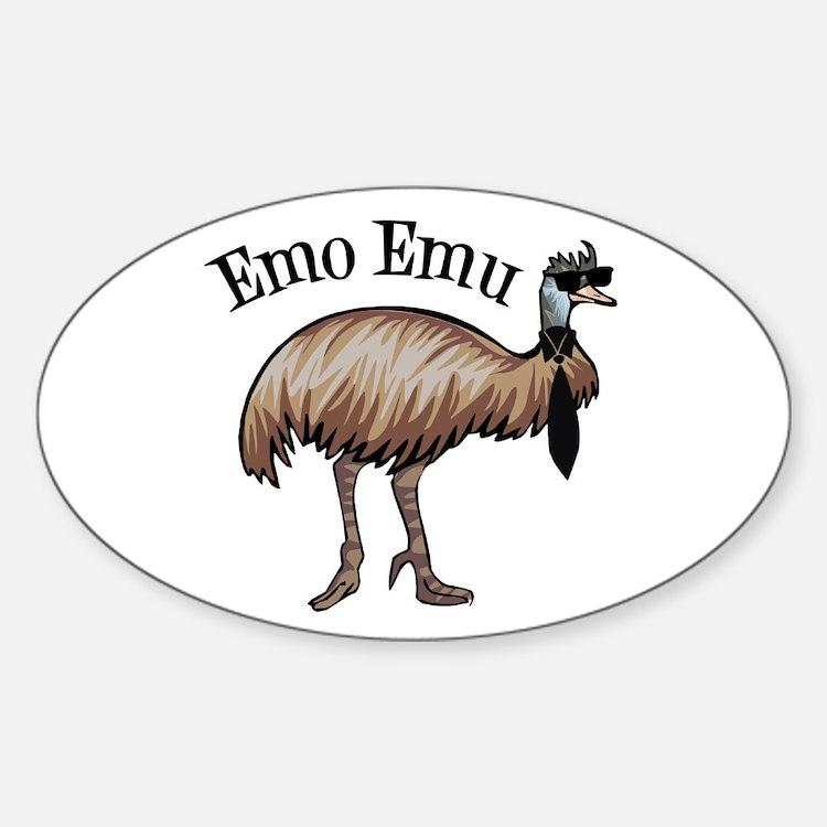 Emo Emu Decal