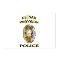 Neenah Police Department Postcards (Package of 8)