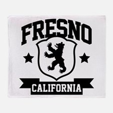 Fresno Heraldry Throw Blanket