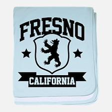Fresno Heraldry baby blanket