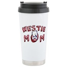 Westie Mom (Red) Travel Mug