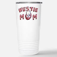 Westie Mom (Red) Travel Mug
