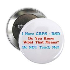 "I Have CRPS/RSD Don't Touch M 2.25"" Button"