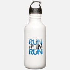 RUN x 3 Water Bottle